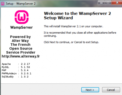 wamp server download 32 bit