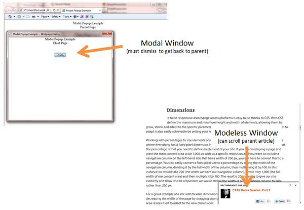 modal vs modeless
