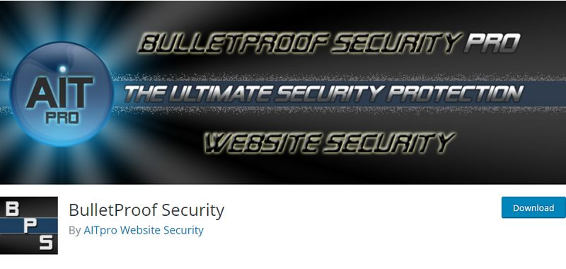 Bulletproof Security for WordPress