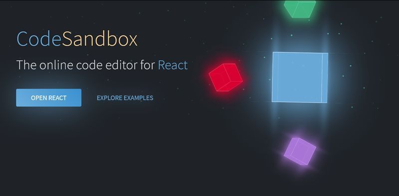CodeSandbox for React