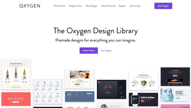 Oxygen Design Library