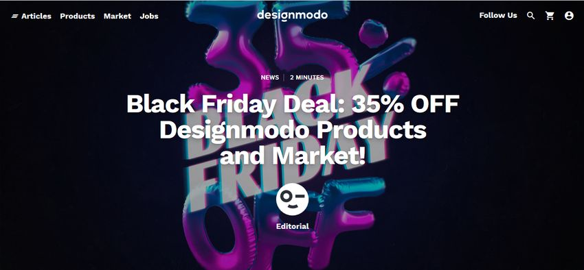 Designmodo Black Friday Deal