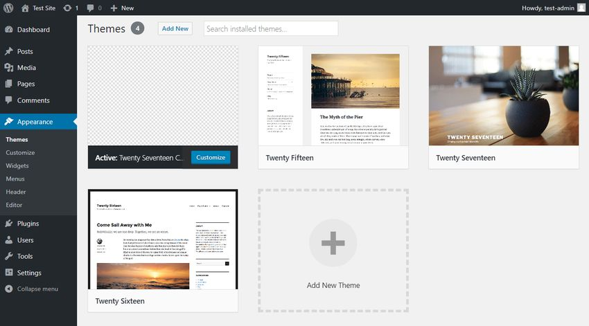 WordPress Child Theme Activated