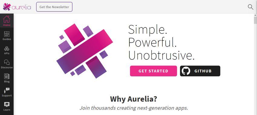 Aurelia JavaScript Framework