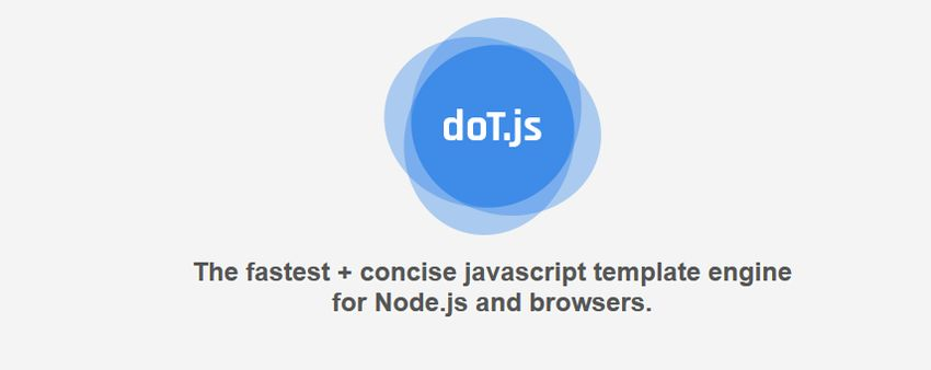doT.js JS templating engine