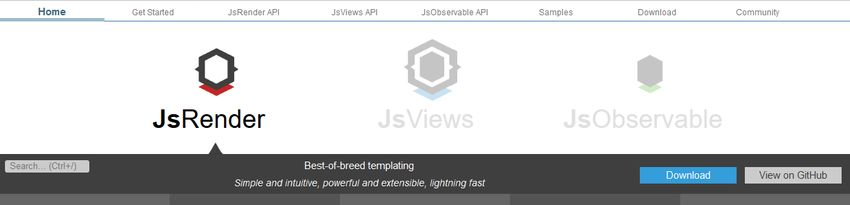 JSRender JavaScript template engine