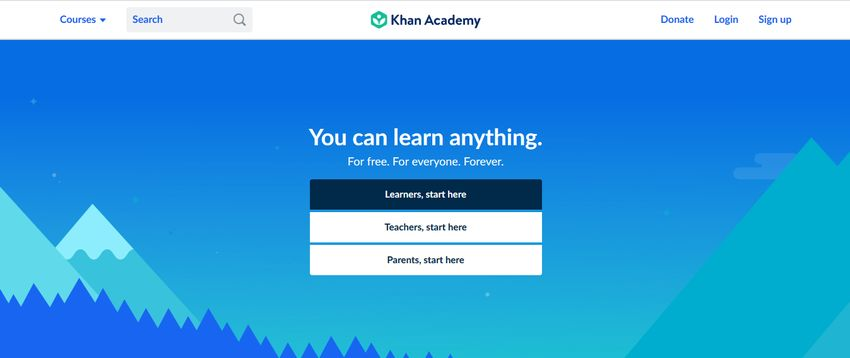 Khan Academy Code Learning Site