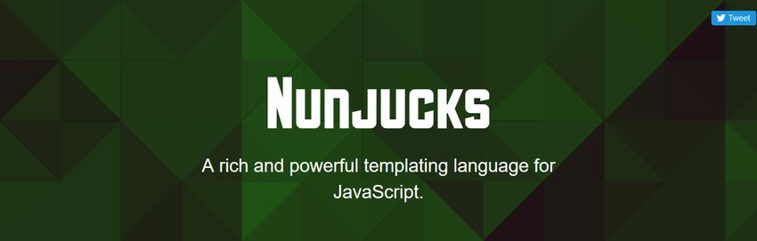 Nunjucks JavaScript Templating Engine