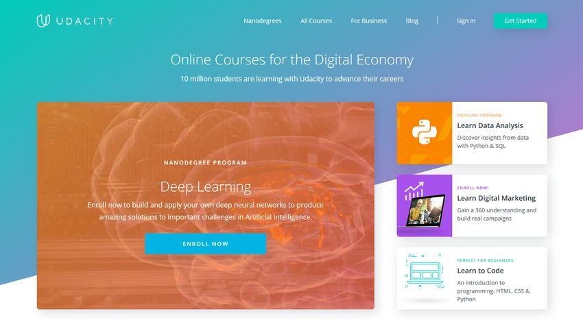 Udacity learn to code