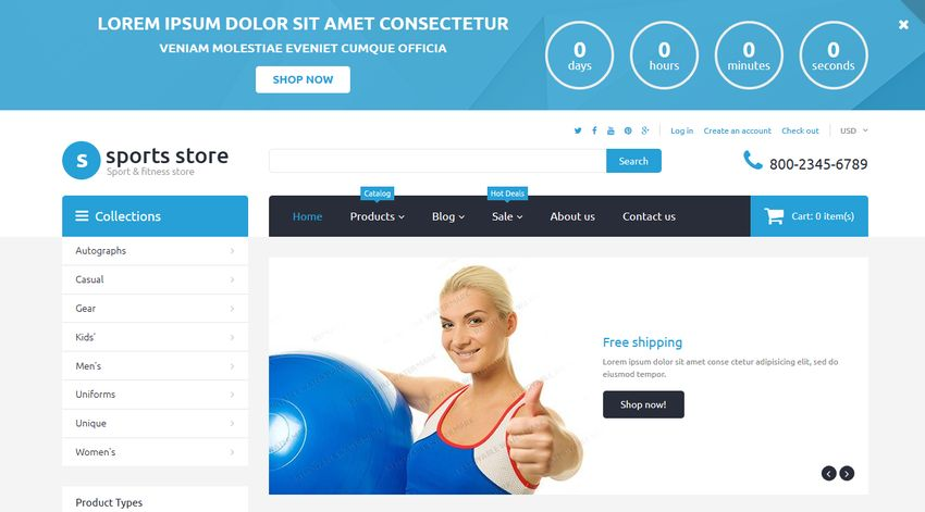 Top 10 Free Shopify Themes for eCommerce Sites - Developer Drive