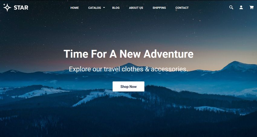 Star Free Shopify Theme