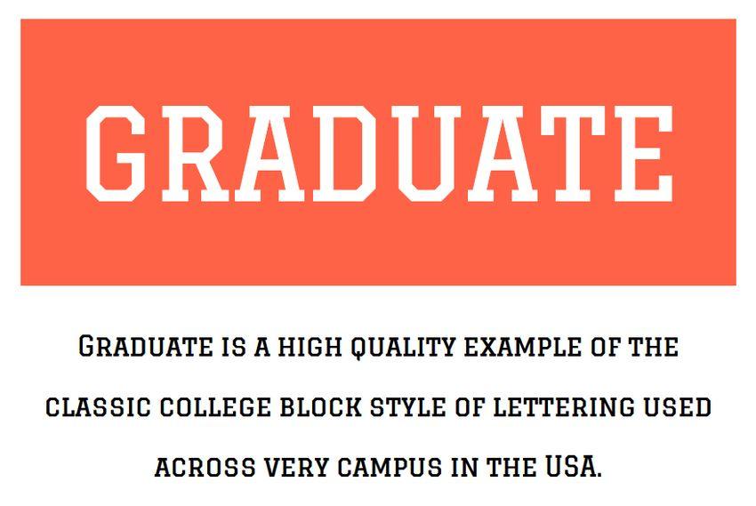 Graduate Variable Font