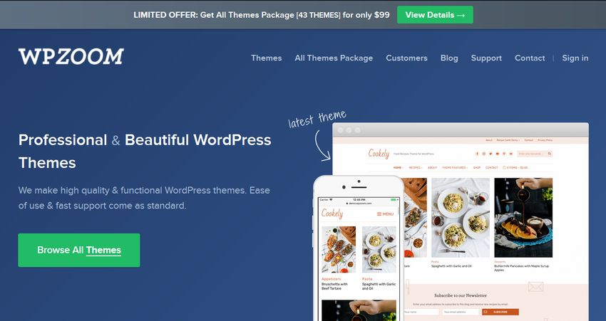 WP Zoom WordPress Theme Framework