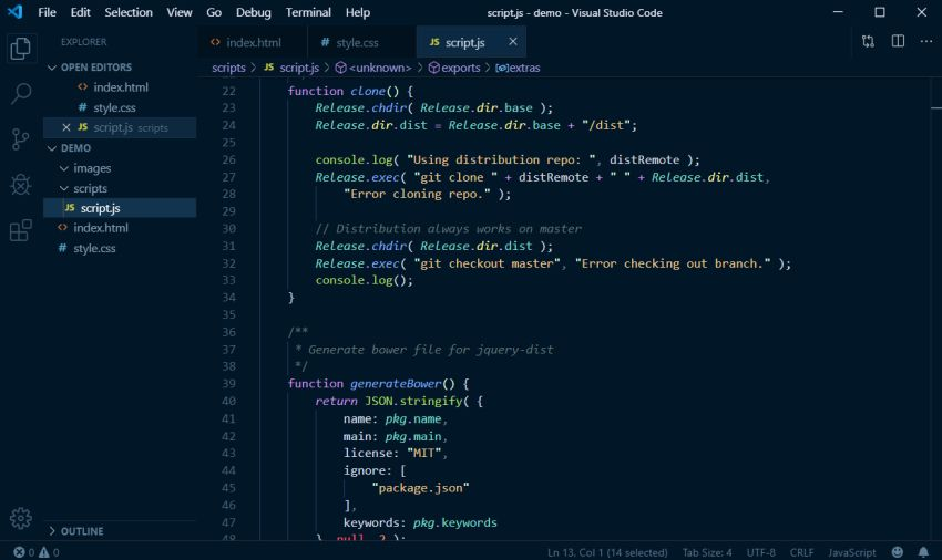 Night Owl VS Code Theme