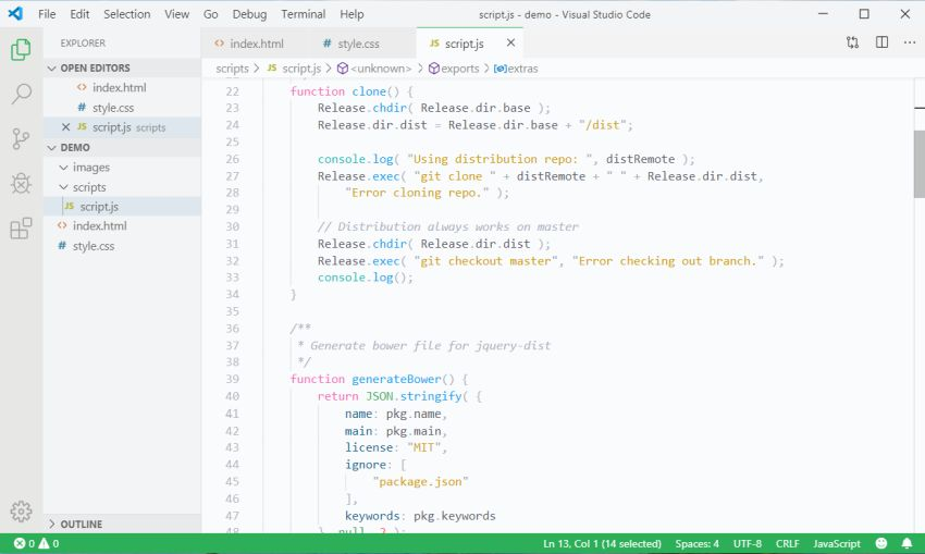 Snazzy Light VS Code Theme