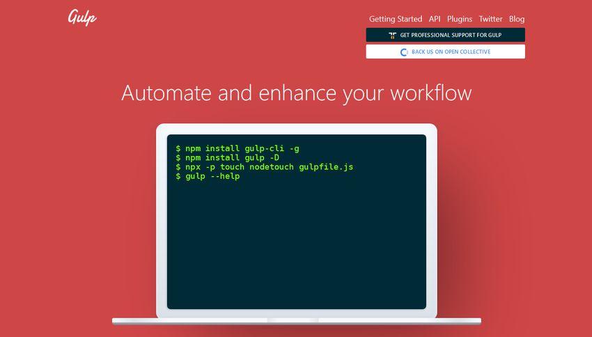 Gulp automated task runner